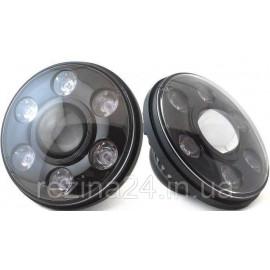 "Комплект Sho-Me 7"" LED фары ближний-дальний"