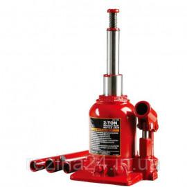 Домкрат гідравлічний двухштоковый 2т 150-370 мм низькопрофільний TORIN TF0202