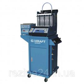 Стенд для промивки форсунок (6 форсунок, візок, УЗ-ванна з таймером) G. I. KRAFT GI19114