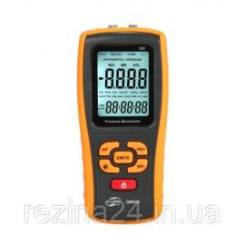 Диференціальний микроманометр USB, ±2,49 кПа BENETECH GM505