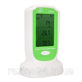 Детектор якості повітря (PM2,5;PM10,HCHO, 0-50°C) BENETECH GM8804
