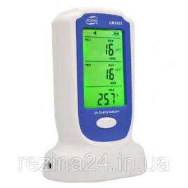 Детектор якості повітря (PM2,5;PM10, 0-50°C) BENETECH GM8803