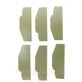 Запчастини для пневмогайковерта KAAA/KAAB1640, KAAA1650B (лопатки 6 шт) TOPTUL KAEC0290