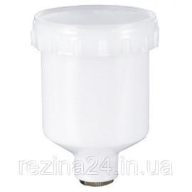 Бачок фарбопульта пластиковий (внутрішня різьба) 125 мл AUARITA PC-125GPR