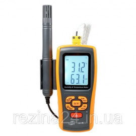 Термогигрометр, термопара, Bluetooth 0-100%, -10-50°C BENETECH GM1361X