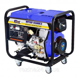 Дизельний генератор Werk WPGD6500E3