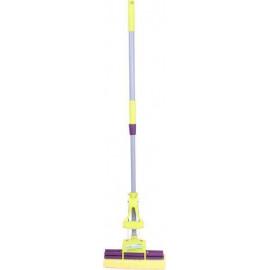 Швабра Dream Land I насадка губка 27 см, ручка 110 см, 1 віджим, жовта (A0004Y)