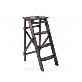 Стрем'янка побутова дерев'яна LOFT 4 ступені, венге (WSL00107)