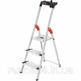 Драбина Hailo L80 ComfortLine алюмінієва, 3 ступ. (8040307)