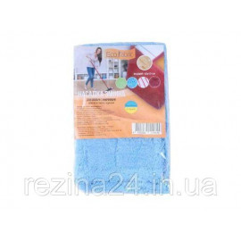 Насадка для швабри Eco Fabric з мікрофібри 42 см, пачка 10шт (EF1902Mix)