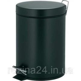 Відро для сміття з педаллю Eco Fabric 3л, матовий чорний (TRL0603-3L)