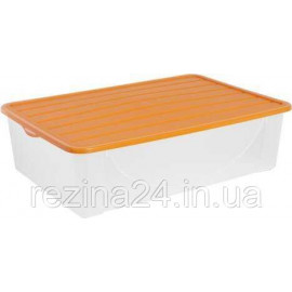 Контейнер для зберігання речей Алеана 22л, світло-помаранчевий (122042)