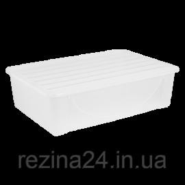 Контейнер для зберігання речей Алеана 22л, прозорий (122042)