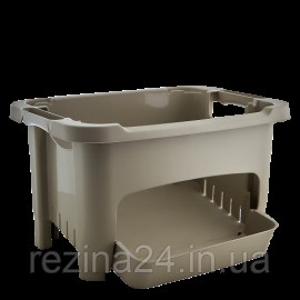 Кошик для зберігання овочів Алеана, какао (122077)