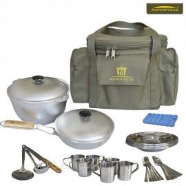 Набір для пікніка (посуд на 6 персон і сумка з термоотделом) Acropolis СДП-1