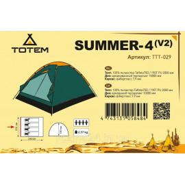 Намет Totem Summer 4 (v2)