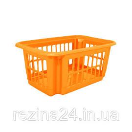 Кошик Алеана 18л, світло-помаранчевий (122059)