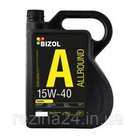 Моторне масло Bizol Allround 15W-40 4л