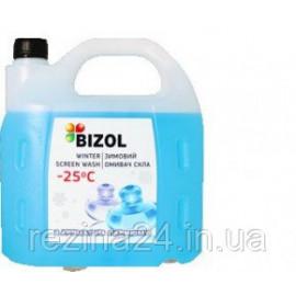 Омивач скла зимовий Bizol WINTER SCREEN WASH -25C perfume 4л