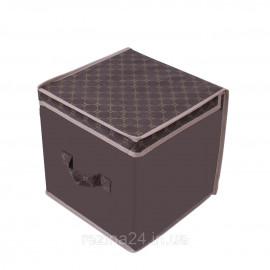 Короб для зберігання речей Тарлєв 30*30*30 см Brown (46020-RO)