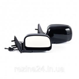 Бічні дзеркала CarLife для ВАЗ 2108, 09, 099, 13, 14, 15 чорні сферичні антиблік 2 шт (VM910)