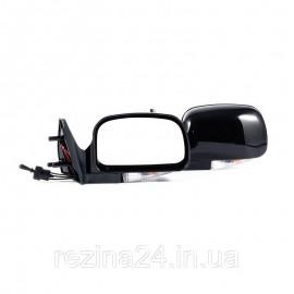 Бічні дзеркала CarLife для ВАЗ 2108, 09, 099, 13, 14, 15 чорні з повторювачем поворотника 2 шт (VM911)