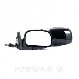 Бічні дзеркала CarLife для ВАЗ 2104, 05, 07 чорні сферичні антиблік 2 шт (VM710)