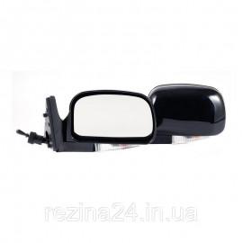 Бічні дзеркала CarLife для ВАЗ 2104, 05, 07 чорні з повторювачем поворотів 2 шт (VM711)