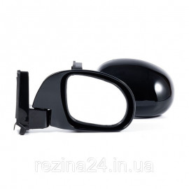 Бічні дзеркала CarLife універсальні чорні на шарнірі 2 шт. (VM510)