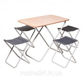 """Комплект """"Пікнік"""" Стіл + 4 стільця"""