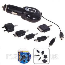 Зарядний для телефонів з перехідниками Pulso N11