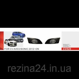 Протитуманні фари Vitol CB-525W Chevrolet Aveo 2012-