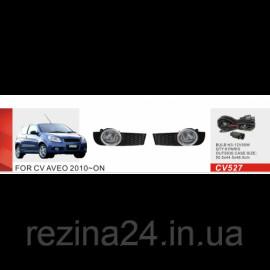 Протитуманні фари Vitol CB-527W Chevrolet Aveo Hatchback 2010-12
