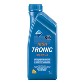 Моторне масло Aral HighTronic 5W-40 1л