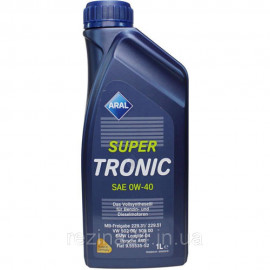 Моторне масло Aral SuperTronic 0W-40 1л
