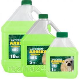 Антифриз Аляѕка Antifreeze -40 зелений 10л