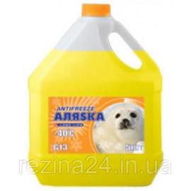 Антифриз Аляѕка Antifreeze -40 жовтий 5л