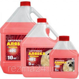 Антифриз Аляѕка Antifreeze-40 червоний 5л
