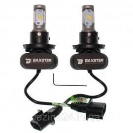 Лампи світлодіодні Baxster S1 H4 H/L 6000K 4000Lm (2 шт)