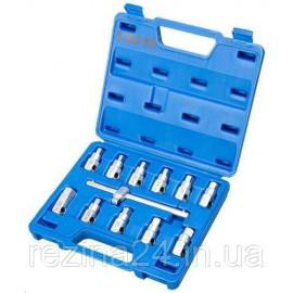 Набір головок для відкручування масляних пробок TJG K3093