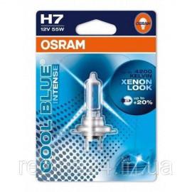 Галогенова лампа Osram Cool Blue Intense 64210CBI-01B-BLI H7 12V 55W PX26d