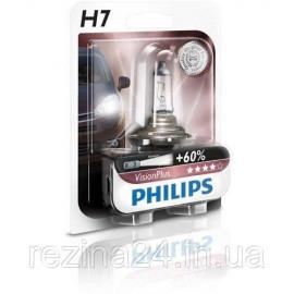 Галогенова лампа Philips VisionPlus 12972VPB1 H7 12V 55W PX26d
