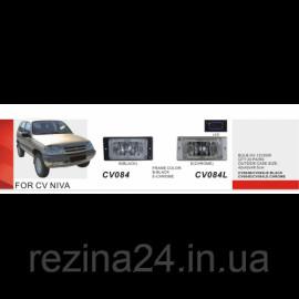 Протитуманні фари Vitol CB-084B-W LADA 2113-15 Chevrolet Niva