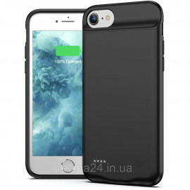 Чохол-акумулятор для iPhone 6, 7, 8 Black