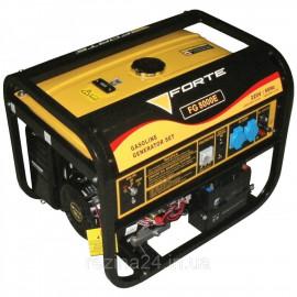 Бензиновий генератор FORTE FG8000E (6кВт)