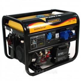Бензиновий генератор FORTE FG6500EA (5кВт, +авто)