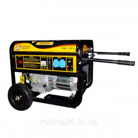 Бензиновий генератор FORTE FG6500 (5кВт)
