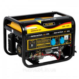 Бензиновий генератор FORTE FG3500Е (2.5 кВт)