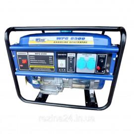 Бензиновий генератор Werk WPG6500 (5кВт)