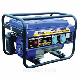 Бензиновий генератор Werk WPG3600E (2.5 кВт)